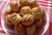 Salty scones, pogácsák