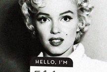 Marilyn / Queen of word's film.