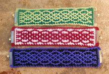 crocheted FP & BP