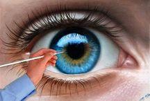 Kresby oči