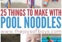 Pool noodle fun