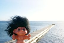 World here i come ! Adventures of the lucky troll Dan / Danish troll explores the world