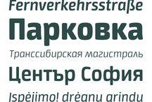 Sans types / Sans fonts/type/typefaces #sans #types #typography