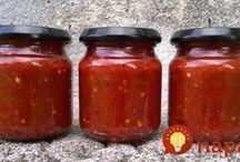 recept na paradajky na zaváranie