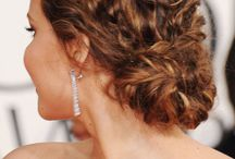 Curly Hair Wedding Hairstyle