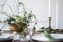 Table-scapes / We just love a beautifully planned party. Our most favorite part is decoration the table. Here are some inspiring images