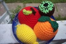 Crochet play food / by Jen Buczynski