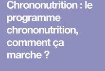 REGIME: Chrononutrition