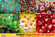 Collaboration Series; Singapore Kindness Lolly Mix / At LollyTalk, we enjoy collaborating with different people and different entity, just to come out with unique candy, just for you. We are constantly looking out for worthy causes, creative brains, iconic personalities, adorable characters as well as interesting Ideas to work with. We believe lolly is more than just a piece of sugar... It also becoming part of our life. Making lolly is a way we express ourselves within a bite size sweet