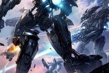 Sci-Fi & Fantasy Art / Science Fiction & Fantasy Art pics collection