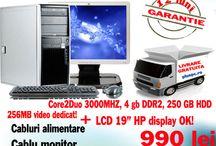 Promotii calculator complet cu monitor / Promotii calculator complet cu monitor