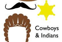 COWBOY ET INDIENS