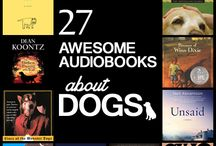 Audiobooks / We love dogs and audiobooks.  Here you can find our 27 favorite audiobooks about dogs.