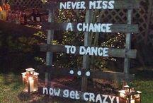 Dancing outdoor ideas