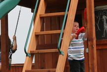 Swing Set Hardware - treehouses and wooden play structures / Swing set hardware that is used on treehouses, wooden forts, wooden playscapes, swing sets and playsets.
