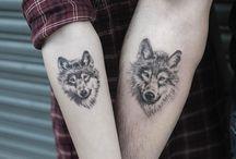 tattoo design (wolf or eagle)