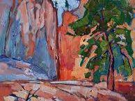 Mountain Rocks and Tree