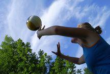 Volleybal / Foto's en speluitleg van volleybal.