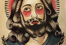 Tatuaggio Sul Tema Di Gesù