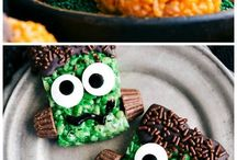 Halloween foods and fun