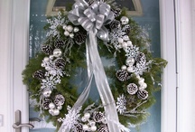 Holiday Wreaths / We love making holiday wreaths for our clients. We change it up every year.