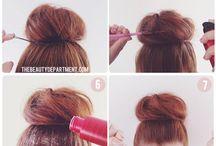 Hair Inspiration / Hair ups and dos