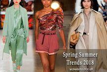 Trends 2018 Spring Summer