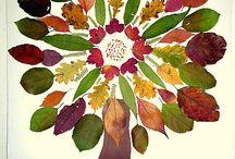 Blätter stempeln