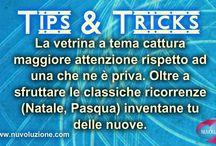 TIPS&TRICKS / Piccoli Trucchi&Consigli su tutto ciò che concerne il Visual Merchandising. www.nuvoluzione.com