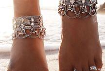 Antique Anklets