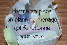 Organisation maison / Planning ménage