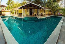 Ishanya - The Cottage Complete: Siolim, Goa / By the pool at Ishanya