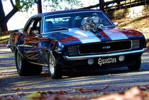 muscle cars / by Jeremy Moore