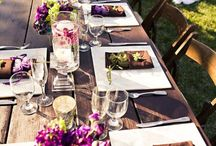 Tables/linens / by Christina Ramirez