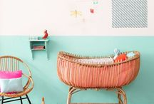 Bright colourful kids rooms