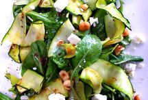 recipes for salads / Collection of salads, as sides and as main dishes.