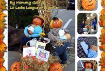 "Mommy Gear Scarecrow ""Breast Friends"""