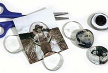 Genealogy Crafts / Fun Crafts to share and to treasure using photos and genealogy artifacts.