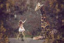 Kids and wild