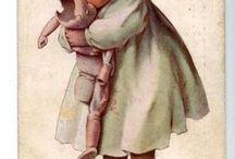 Niñas con su muñeca