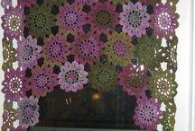 crochet courtains
