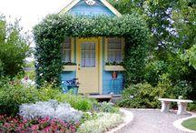cottages/cabins / by Diane Boren