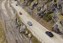 Modellbahn - Schweizent Alp Bahn (ChRB)