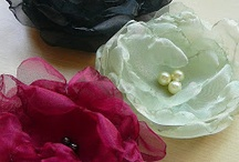 Fabric flowers / Stoffblumen