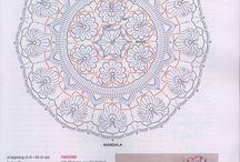 컬러도일리(꽃)