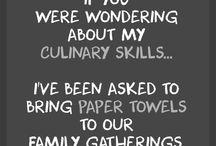 Cooking sarcasm