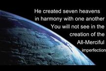 UNIVERSE IS ALLAH'S CREATION / Universe is Allah's Creation , Amazing and Wonderful