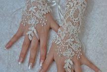 Vintage Bridal Gloves