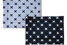Babykamer Cross Zwart-Wit / Babykamer inrichting zwart-wit cross