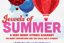 Berries!! / I would love a vitamix. Made in USA!